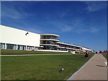 TQ7407 : De La Warr Pavilion, Bexhill on sea by Stacey Harris