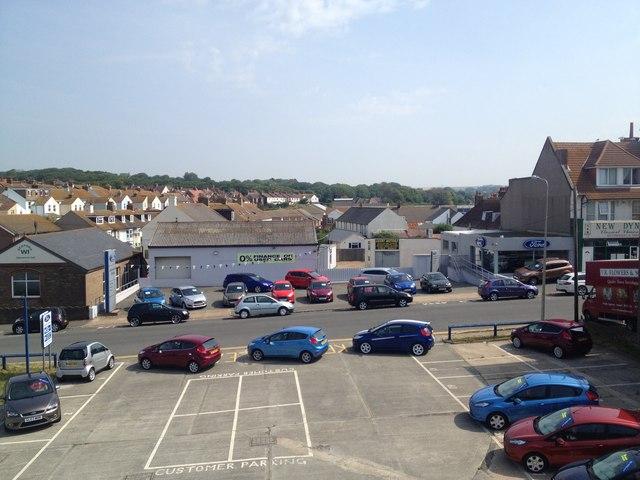 Jermyn & Sons car dealership, Seaford