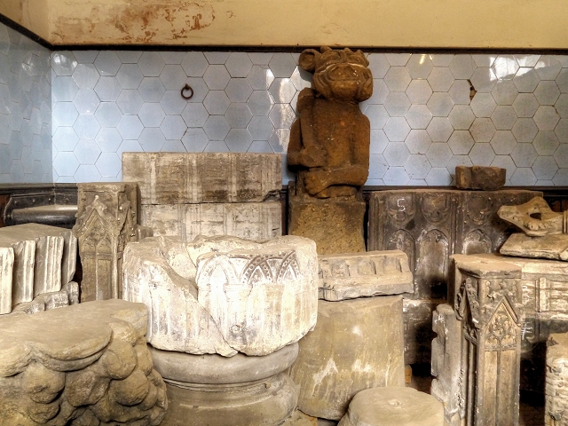 Display of Old Relics, Nostell Priory Stables