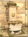 SE4017 : Water Trough, Nostell Priory Stable Block by David Dixon