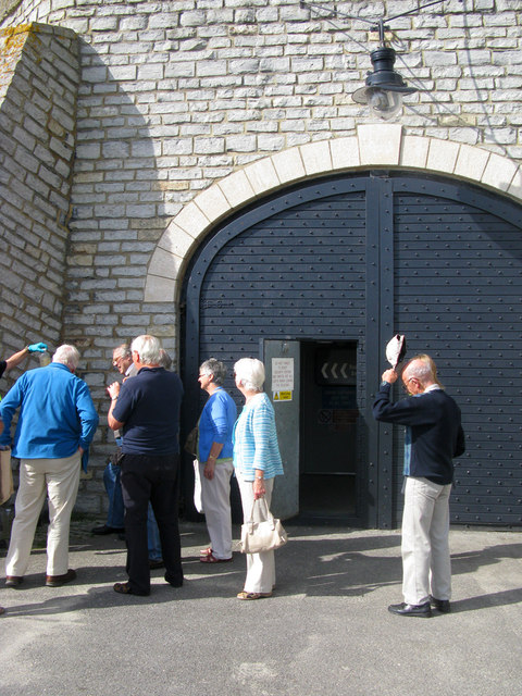 Entrance to the Pumping Station
