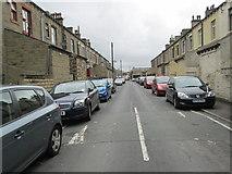 SE0824 : Frank Street - looking towards Hopwood Lane by Betty Longbottom
