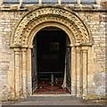 SP2512 : The Church of St John the Baptist, Burford by Dave Hitchborne