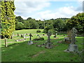 ST7159 : All Saints, Dunkerton: churchyard (c) by Basher Eyre