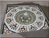 SP5206 : Oxford Centre for Islamic Studies, fountain in Fellows' Quad by David Hawgood