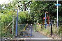 NS4962 : Entrance to Jenny's Well Nature Reserve, Paisley by Billy McCrorie