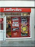 SY6990 : Ladbrokes, South Street by Basher Eyre