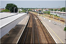 TQ2805 : West Coastway Line, Hove Station by N Chadwick