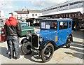 SJ9494 : Blue Austin Seven by Gerald England