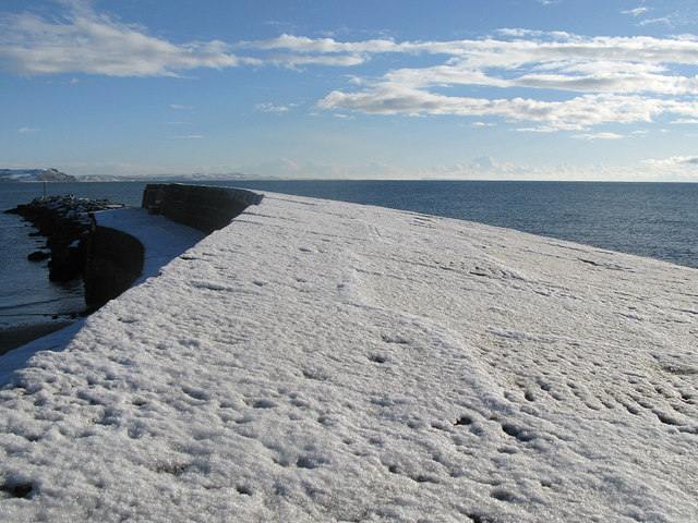 The Cobb in winter