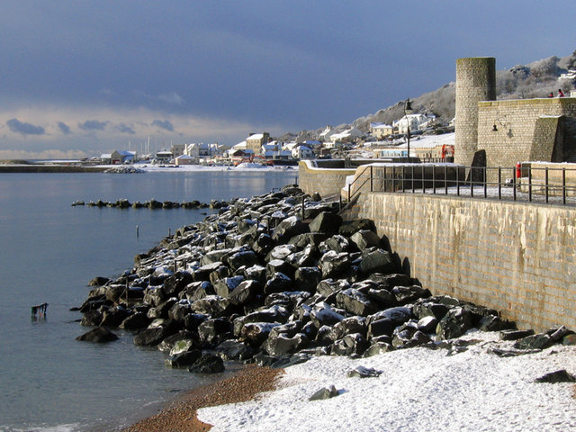 Church Beach in winter