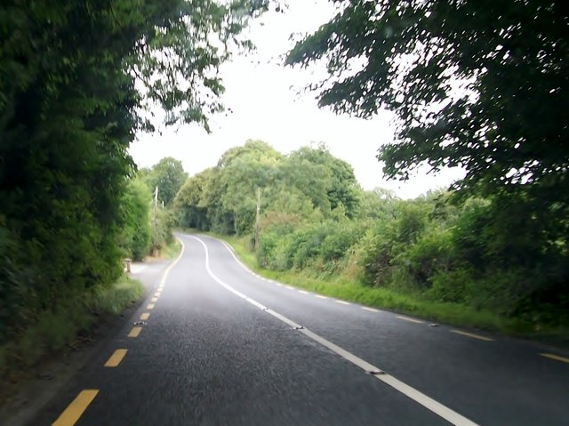 The N52 south of Split Hills