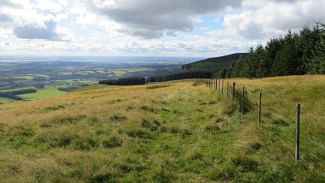 West ridge, Commonedge Hill