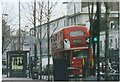 TQ2580 : 94 Routemaster on Notting Hill Gate, 2002 by David Howard
