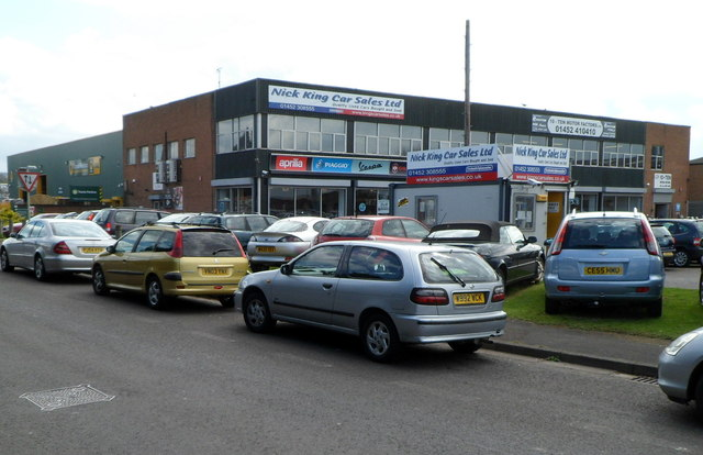 Nick King Car Sales Gloucester C Jaggery Cc By Sa 2 0 Geograph