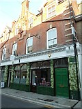 SY6990 : Green tiled building in South Street by Basher Eyre
