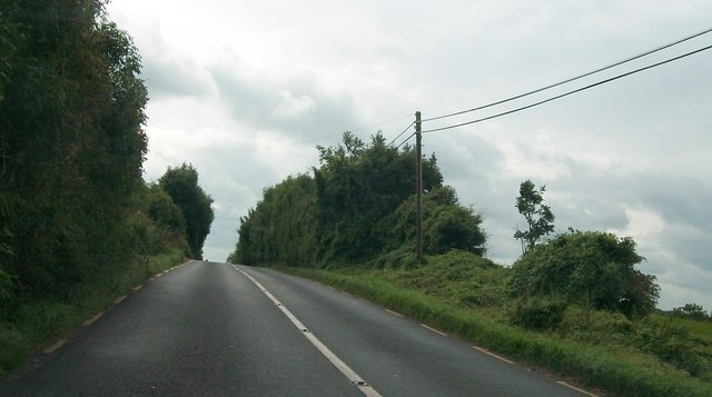 The N62 at Tubbrit, Co Westmeath