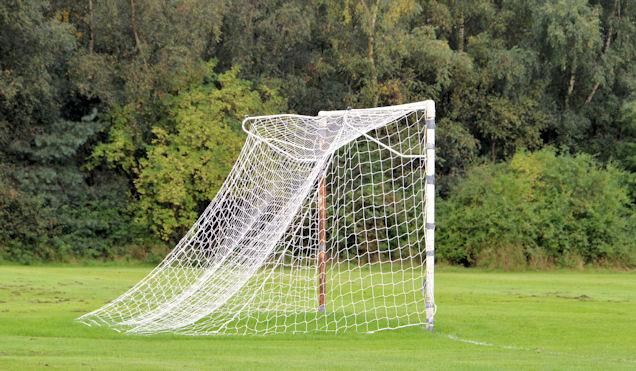 Goalposts, Victoria Park, Belfast (1)