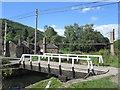 SK3155 : Swing bridge at High Peak Junction by John Slater