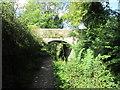 SK3355 : Bridge over the canal near Leashaw Farm by John Slater