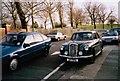 TQ2184 : Wolseley 15/50 on Longstone Avenue, Willesden 1998 by David Howard