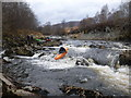 NH5192 : Rapid at Gruinards - take-out for the River Carron by Andy Waddington
