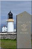 ND2076 : Dunnet Head Sign, Lighthouse and Fog Horn, Dunnet Head Peninsula, Caithness by Terry Robinson