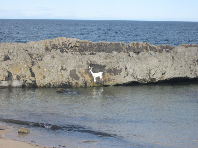 Stag Rock, near Blackrocks Point