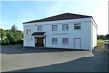 NS6113 : New Cumnock Evangelical Church by Mary and Angus Hogg