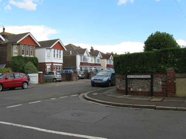 Annington Road junction with Ringwood Road Eastbourne