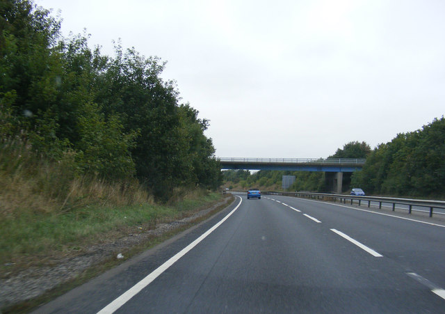 Approaching All Saints Road Bridge