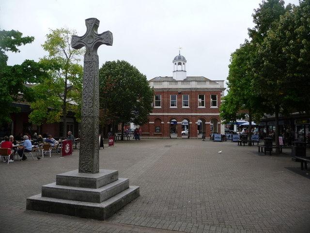 Christchurch: Saxon Square