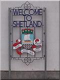 HU4741 : Lerwick: Welcome to Shetland by Chris Downer