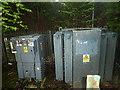 SJ8589 : Substation switchgear and transformer by Bob Harvey