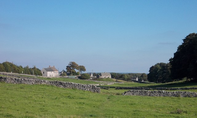 On the path to Flagg - from High Stool Farm