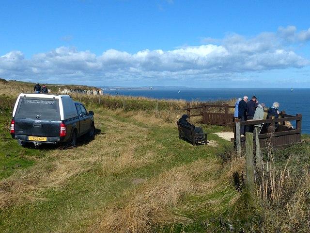 Viewing platform, Bempton Cliffs