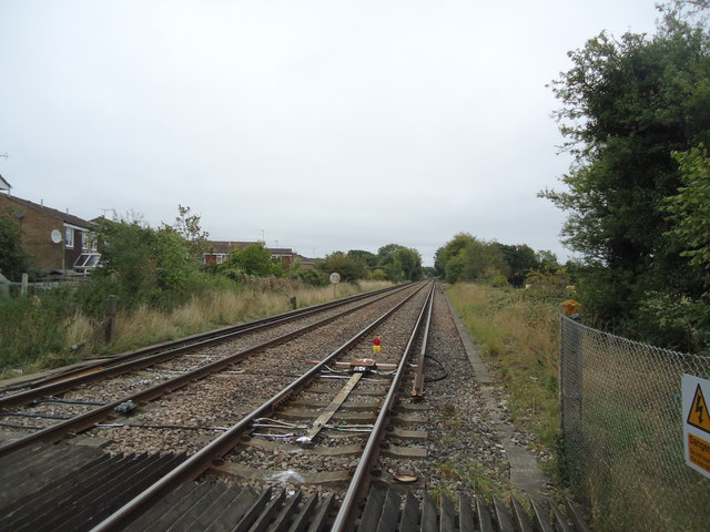 Railway line, Barns Green