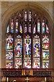 SD8706 : East Window, Middleton Parish Church by David Dixon