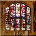 SD8706 : Middleton Parish Church, Stained Glass Window in the Assheton Chapel by David Dixon