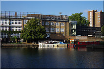 TQ3283 : Regent's Canal at City Road Basin by Julian Osley