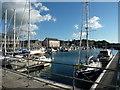 SH4763 : Victoria Dock, Caernarfon by Ruth Sharville