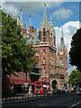 TQ3082 : St Pancras Station & hotel by Chris Allen