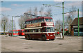 SE7408 : The Trolleybus Museum at Sandtoft - Reading trolleybus 113, near Sandtoft, Lincs by P L Chadwick