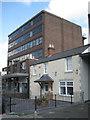 SP1195 : Contrasting neighbours, Birmingham Road by Robin Stott