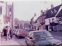 SU7682 : Hart Street, Henley on Thames, 1983 by David Howard