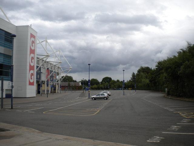 King Power Stadium car park, Leicester