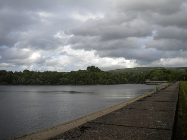 Southern end of Tittesworth Reservoir