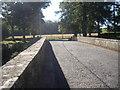 NU0224 : South over Lilburn Bridge by Stanley Howe