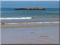 C5450 : Rock in Culdaff Bay by Oliver Dixon