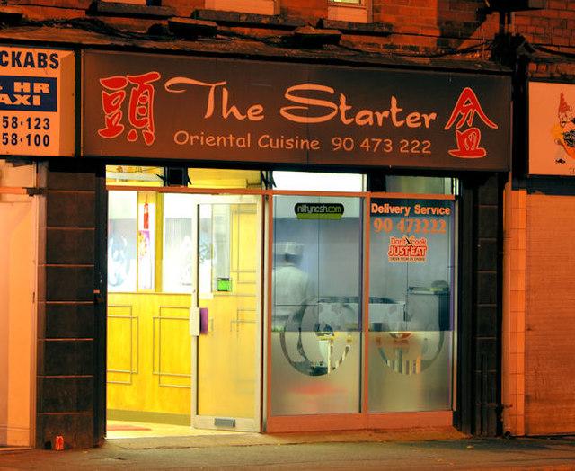 """The Starter"", Ballyhackamore, Belfast"